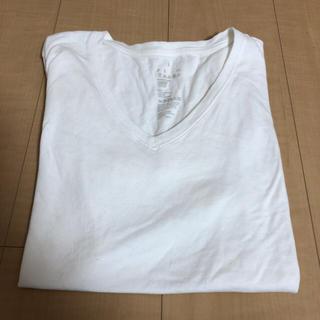 ムジルシリョウヒン(MUJI (無印良品))の無印 Vネック Tシャツ(Tシャツ(半袖/袖なし))