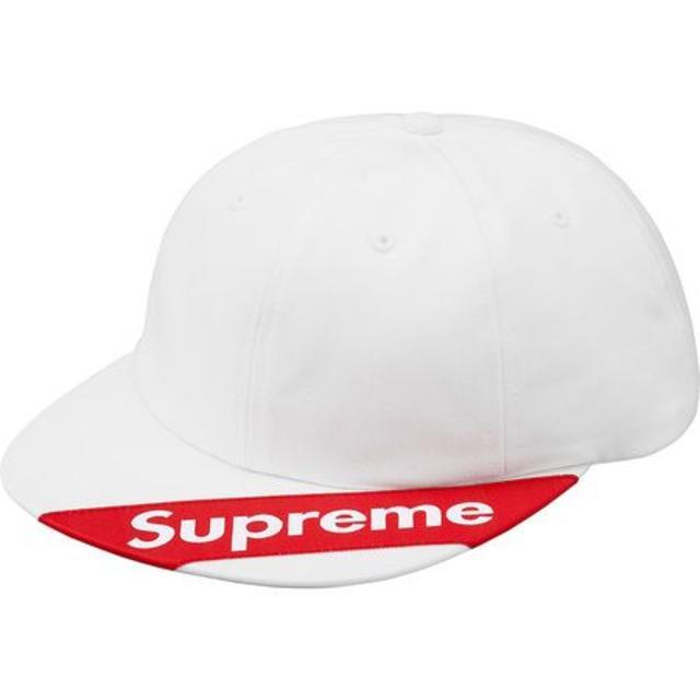 Supreme(シュプリーム)のSupreme 18SS visor label 6,panel キャップ 白 メンズの