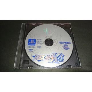 プレイステーション(PlayStation)のPS ロックマンX4 / ディスクのみ(家庭用ゲームソフト)