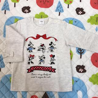 シマムラ(しまむら)の【バースデイ】ミニーちゃん ロンT 90(Tシャツ/カットソー)