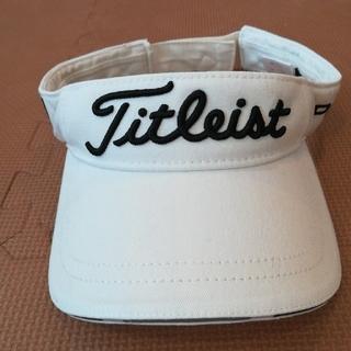 タイトリスト(Titleist)のタイトリスト kazu様専用 ゴルフ メンズ サンバイザー2点 やや難あり(その他)