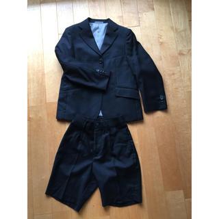 ユニクロ(UNIQLO)のUNIQLO 入学式スーツ 男の子 130(ドレス/フォーマル)