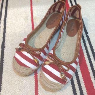 マイケルコース(Michael Kors)の美品 マイケルコース フラットシューズ(レインブーツ/長靴)