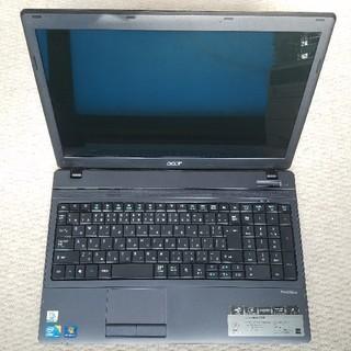 エイサー(Acer)のAcer TravelMate 5740-X322 NEW50 i3 通電(ノートPC)