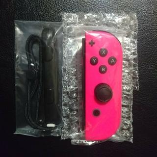 ニンテンドースイッチ(Nintendo Switch)の新品 ジョイコン 任天堂スイッチ ピンク 右(その他)