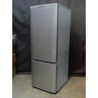 ミツビシデンキ(三菱電機)の美品 高級仕様 大き目 168L 三菱 霜取り不要(冷蔵庫)