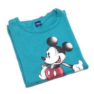 ディズニー(Disney)のC216 中古 ディズニー ミッキーマウス Tシャツ 男女兼用 サイズL(Tシャツ(半袖/袖なし))