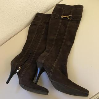 ルイヴィトン(LOUIS VUITTON)のルイヴィトン革ブーツ(ブーツ)