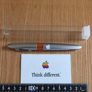 アップル(Apple)のアップルコンピュータ ノベルティ ボールペン&ステッカー セット(ノベルティグッズ)