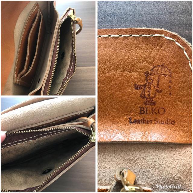 88c39e9c9d39 robita - BECOレザークラフト*コロンと可愛いレザー 財布の通販 by りぃ ...