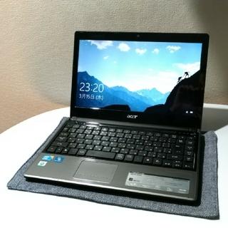 エイサー(Acer)のAcer TimelineX Corei5 メモリ4GB(ノートPC)