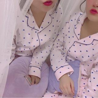 ジーユー(GU)の 【新品未使用】 ♡ハートルームウェア♡(ルームウェア)
