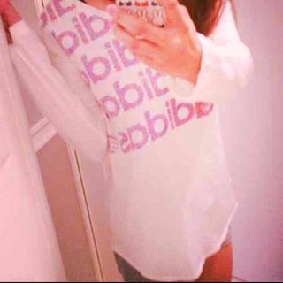 アディダス(adidas)のadidas可愛いロンT(Tシャツ(長袖/七分))