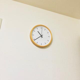 ムジルシリョウヒン(MUJI (無印良品))の無印良品 アナログ時計(掛時計/柱時計)