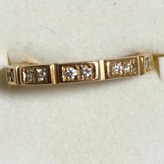 最終価格です♡!イノーヴェ K18ピンクゴールド ダイヤリング(リング(指輪))