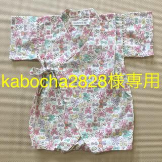 シマムラ(しまむら)のconoco 甚平ロンパース 80(甚平/浴衣)