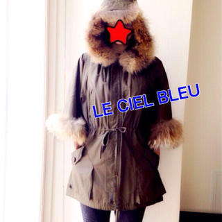 ルシェルブルー(LE CIEL BLEU)のLE CIEL BLEU♥︎モッズコート(モッズコート)
