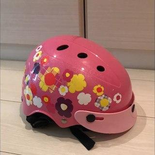 お値下げ!ブリジストン ヘルメット 花柄  子供 キッズ(外出用品)