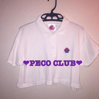 ペコクラブ(PECO CLUB)の❤︎PECO CLUB❤︎ポロシャツ❤︎ショート丈(ポロシャツ)
