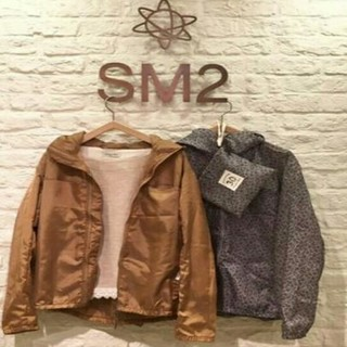 サマンサモスモス(SM2)のsm2新品ノベルティーウインドブレーカー(ナイロンジャケット)