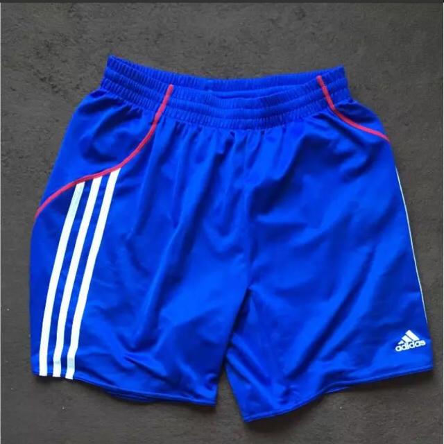 adidas(アディダス)の早い者勝ち! adidas マリノスカラー 短パン スポーツ/アウトドアのサッカー/フットサル(ウェア)の商品写真