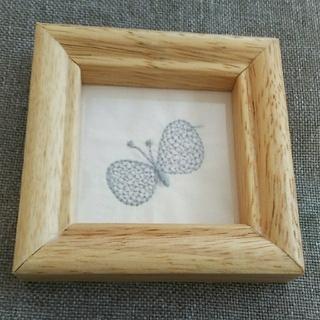 ミナペルホネン(mina perhonen)のハンドメイド★ミナペルホネン★木製フレーム(フォトフレーム)