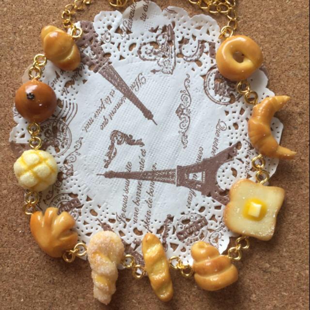 ひまわり様専用  6種のパンのブレスレット ハンドメイドのアクセサリー(ブレスレット/バングル)の商品写真