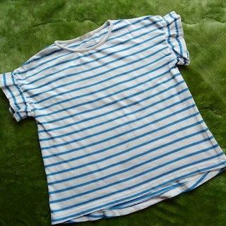 ジーユー(GU)のGUボーダーTシャツ 130(その他)