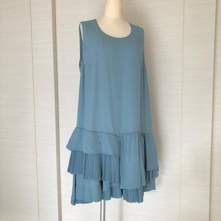 ヌメロヴェントゥーノ(N°21)のN21 ヌメロヴェントゥーノ ワンピース ドレス 定価15万(ひざ丈ワンピース)