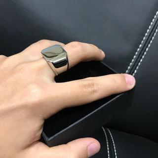クロムハーツ(Chrome Hearts)のThe Chrome Chamber スクエアリング(リング(指輪))