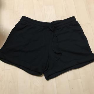 ジーユー(GU)の大きいサイズ ショートパンツ 黒(ショートパンツ)