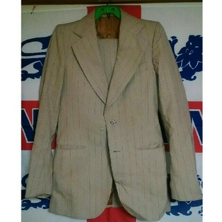 ジャンク品 ヴィンテージ スーツ (セットアップ)