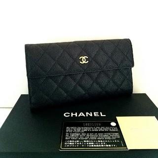 シャネル(CHANEL)の♦シャネル♦未使用・正規品♦マトラッセ♦キャビアスキン♦Wホック長財布(財布)