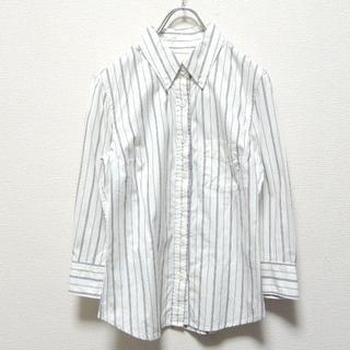 エディション(Edition)のEDITION エディション メンズ ポケット付ストライプシャツ(シャツ)