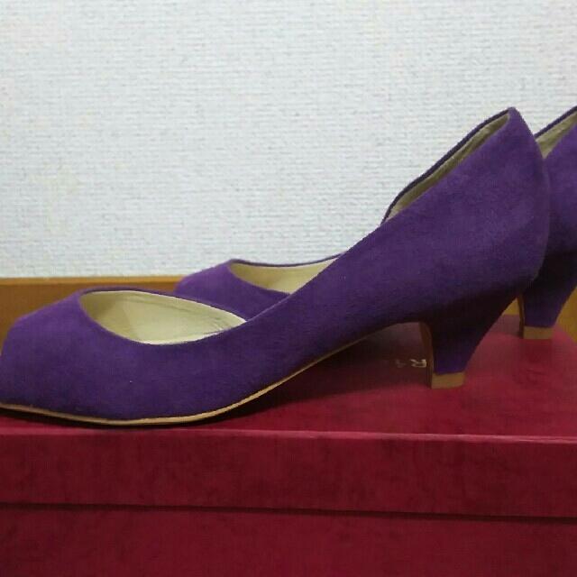 ORiental TRaffic(オリエンタルトラフィック)のオリエンタルトラフィック  パープルパンプス41 レディースの靴/シューズ(ハイヒール/パンプス)の商品写真