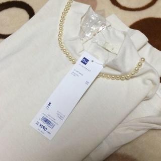 ジーユー(GU)のパールハイネックシャツ(Tシャツ(長袖/七分))