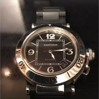 カルティエ(Cartier)のCARTIER パシャ シータイマー(ラバーベルト)