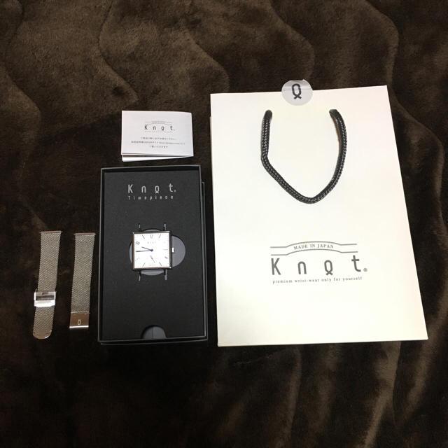Knot/not(ノットノット)のKnot スクエア 腕時計 レディースのファッション小物(腕時計)の商品写真