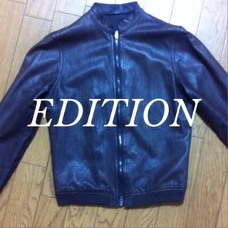 エディション(Edition)のEditionレザージャケット(ライダースジャケット)