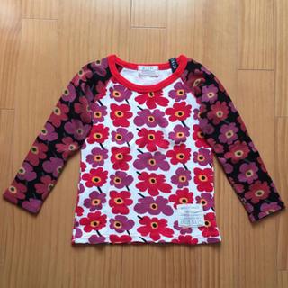グリーントマト(GREEN TOMATO)の花柄カットソー(Tシャツ/カットソー)
