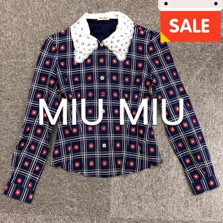 ミュウミュウ(miumiu)の【keoribeaucoup様専用】MIU MIU シャツ(Tシャツ(長袖/七分))