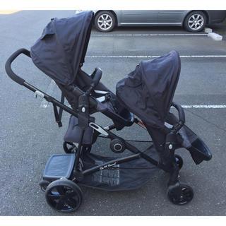ベビートレンド(Baby Trend)の2人乗りベビーカー ベビートレンド シットアンドスタンドスナップギア(ベビーカー/バギー)