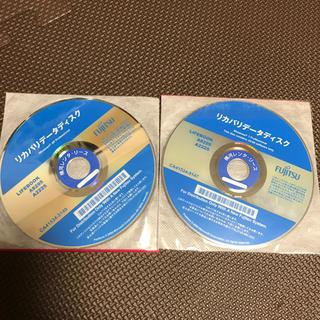 フジツウ(富士通)のLIFEBOOK A8295/A2225 リカバリーディスク(PC周辺機器)