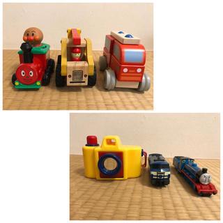 ボーネルンド(BorneLund)の男の子おススメ♫ 電池不要  ゴードン アンパンマン 消防車 ボーネルンド(電車のおもちゃ/車)