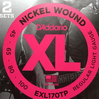 DADDARIO EXL170 1セット(弦)