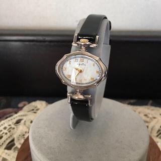 アガット(agete)のアガット クリスマス限定ウォッチ 銀無垢 時計150本限定(腕時計)