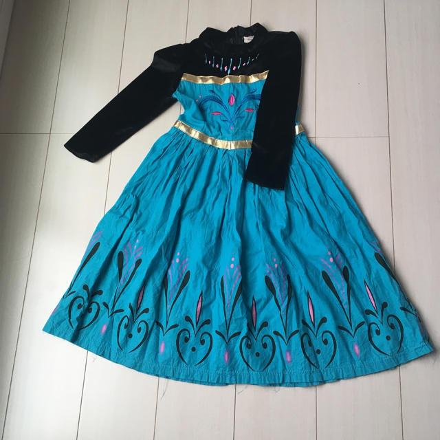 エルサ 戴冠式ドレスの衣装 130
