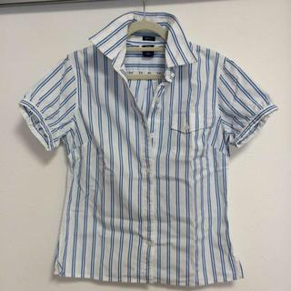 ギャップ(GAP)のGAP ストライプシャツ(シャツ/ブラウス(半袖/袖なし))