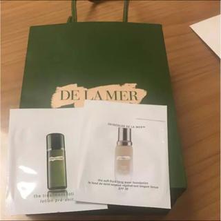 ドゥラメール(DE LA MER)のドゥラメールファンデーションと化粧水サンプル(サンプル/トライアルキット)