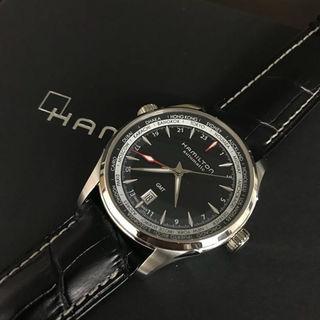 ハミルトン(Hamilton)のハミルトン ジャズマスター GMT オートマチック 腕時計 時計(その他)